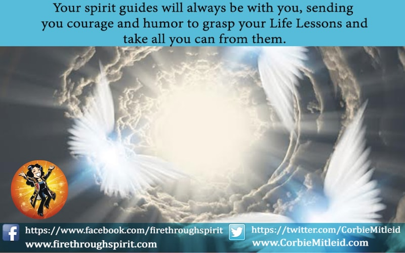 Do Spirit Guides Ever Abandon Us: Wings & Heavenly Light