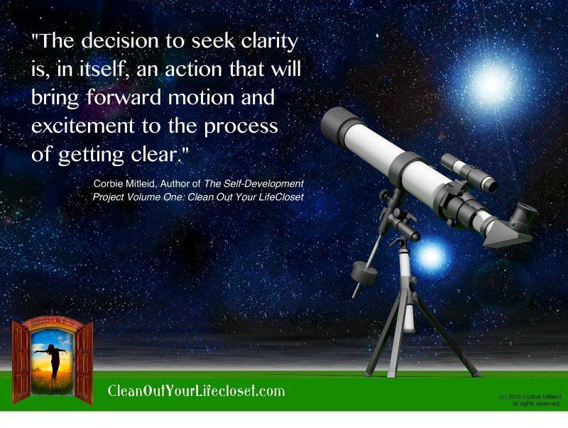 seek clarity corbie mitleid