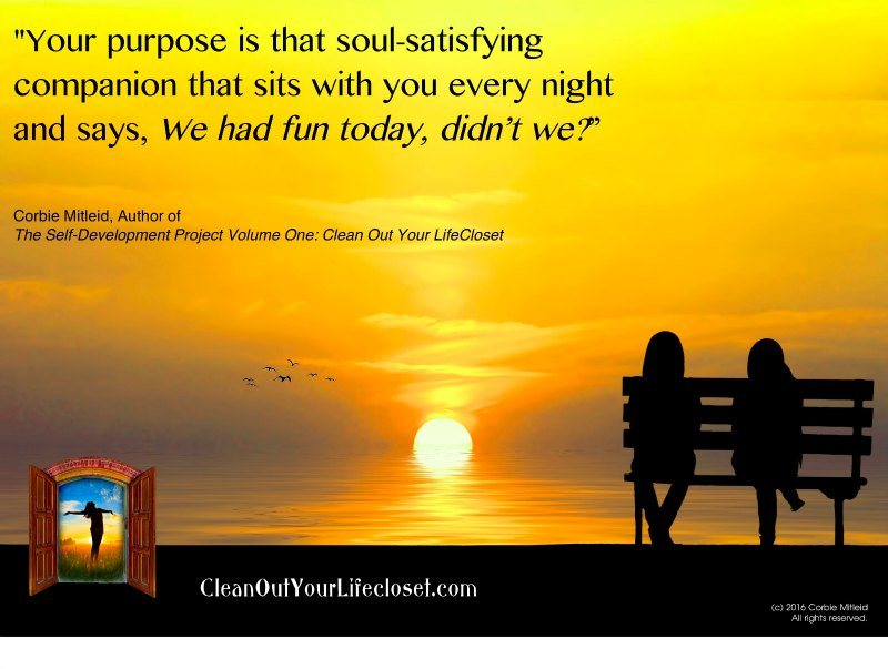 your purpose soul satisfying companion corbie mitleid