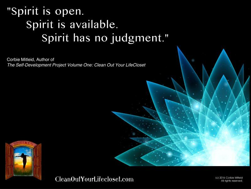 Spirit Has No Judgement