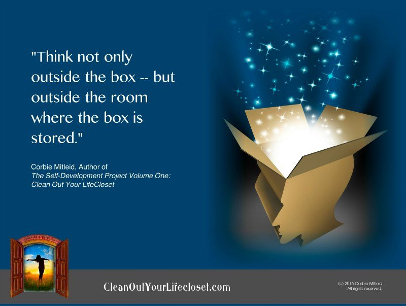 think outside the box self help quotes corbie mitleid