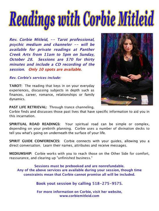tarot psychic readings panther creek arts